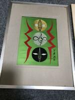 WORLD EXPO JAPAN 1970 OSAKA TARO OKAMOTO NISHIJIN ORI TOWER OF THE SUN ART RARE