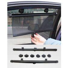 2 Pcs Car Side Window Sun Shade Roller Blind Screen Baby Visors Block UV Rays