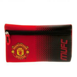 Manchester United FC Flat Pencil Case Cover School Stationery Christmas Gift