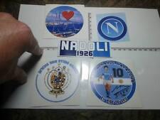 5 adesivi napoli 1926 logo foto citta maradona  stikers soccer naples borbonico