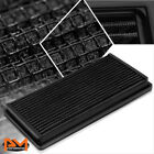 For 95-05 Chevy Blazer 4.3 Reusable Multilayer High Flow Air Filter Panel Black