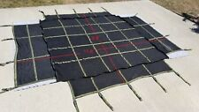 US Military Cargo Net, Heavy Truck Trailer Netting 9ft x 11ft Multi-Hook EXC!!!