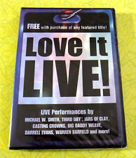 Love it Live! ~ New DVD Movie ~ Michael W. Smith Jars of Clay Music Rare Video