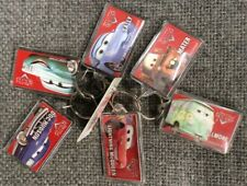Disney Pixar CARS State Farm Ins. Keychain Lot Fillmore Mater Sally Lightning