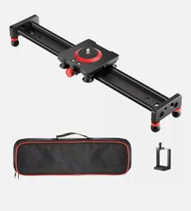 "Neewer Camera Slider Aluminium Alloy Rail. 16"""