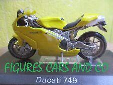 MOTO 1/24 DUCATI  749  COLLECTION  GM MOTORRAD MOTORCYCLE