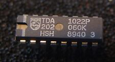 4x  IC TDA1022 PHILIPS (NOS)  BBD / Eimerkettenspeicher
