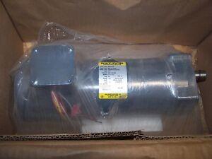 NEW BALDOR 1/3 HP AC ELECTRIC GEARMOTOR GMP3338  208-230/460 VAC 345 RPM OUTPUT