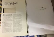 Mixer  Solid State Logic  / SSL Avant Installation Guide V 1.2