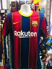 Nike Fc Barcelona Home 2020-21 Navy Red Yellow Soccer Jersey Size 3XL Men's Only