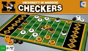 University of Missouri Tigers Special Checker Set by Masterpieces