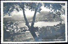 SWITZERLAND~Svizzera~1930's LUGANO - PARADISO ~ Mayr Real Photo PC  RPPC