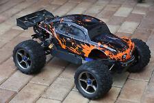 Custom Bug Body Muddy Orange for Traxxas E-Revo 1/10 Volkswagen Baja Bug Beetle