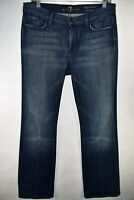 Seven 7 For All Mankind High Waist Bootcut Womens Size 30 Jeans Meas. 32x31