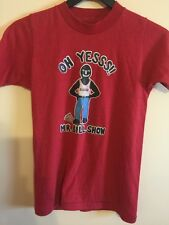 Vintage 70's The Mr. Bill Show T Shirt , With Sluggo, A Small Size