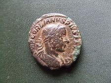 Roman. gordiano III. 238-244AD. bronce Dupondius. Raro. buen Estado.