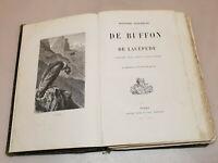 Ancien Livre Histoire Naturelle De Buffon et De Lacépède Tours 1874
