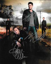 Supernatural Cast  8 x 10 Autograph Reprint  Jared Padalecki  Jensen Ackles