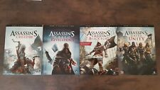 4 Assassin's Creed Official Strategy Guides Piggyback