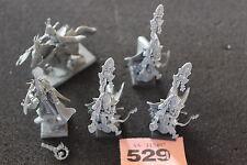 Juegos taller Warhammer Fantasy elfos alto Elfo Mago Magos pie y montado fuera de imprenta