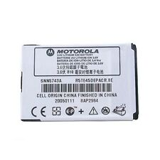 Motorola OEM SNN5743A Battery for V360 V361 VE465 W260g W315 W385 W395 W490