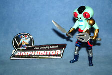 """Turbo Power Rangers Evil Space Alien """"amphibitor"""" COMPLETO"""
