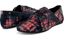 Volcom Stone SOUL MATES Womens Shoes 7 US Red Black NEW