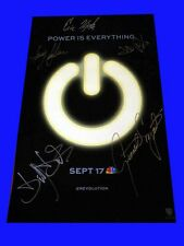 REVOLUTION sdcc 2012 NBC Exclusive Signed Poster TRACY SPIRIDAKOS BILLY BURKE