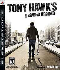Tony Hawk's Proving Ground (Sony PlayStation 3, 2007)  COMPLETE   FAST SHIP  PS3