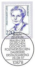 BRD 1997: Marie-Elisabeth Lüders Nr 1940 mit Berliner Ersttagsstempel! 1A! 1610