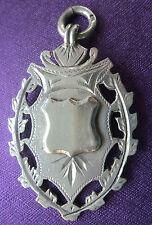 GRANDE medaglia d'argento/Fob/Ciondolo-Herbert bushell 1901-non incisa