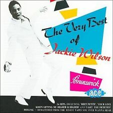 The Very Best of Jackie Wilson  (1989, Ace Records) 24 Tracks Like New!
