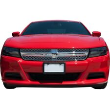 Fits Dodge Charger 2015-2017 Chrome ABS Top Mesh Grille Overlay Insert