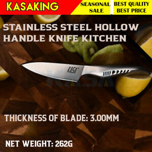 """Knife 3.5"""" Stainless Steel Hollow Handle Knife Kitchen Chef Knife for chef"""