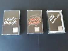 DAFT PUNK 3 cassettes - Alive 1997, Discovery, Homework RARE