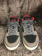ZOO YORK SN 42212 Hi Top Skateboard Sneakers Leather Casual Mens Size 10M NICE!!