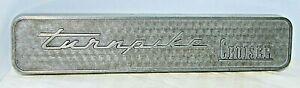Mercury Turnpike Cruiser Pace Car Emblem ECZ-6404-C Trim Molding Badge Silver