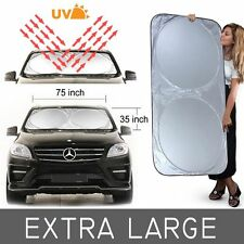 Jumbo Foldable Reflective Auto Visor Car/SUV/Truck Window Sun Shade Block Cover