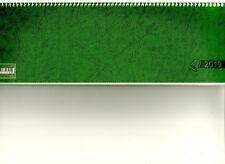 Schreibtischkalender 2019  Glocken grün  1 Woche = 2 Seiten  Umlegekalender