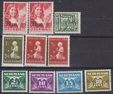 592) NETHERLANDS - NEDERLAND 1940   POSTFRIS - MNH SELECTION -