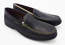 J5144 New Men's Bostonian Warren Twin Black Loafer 11.5 M