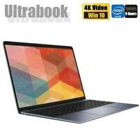 Laptop ultrasottile 14,1 pollici 1080P Tastiera full size 4GB + 64GB Win 10