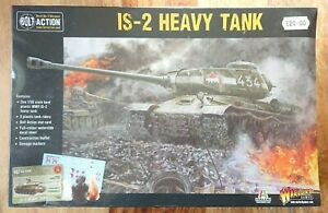 Warlord Games Bolt Action World War II Wargames IS-2 Heavy Tank NEW