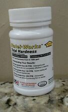 Total Hardness Test Strips for Water, 50 Tests, 0-1000 ppm or 0-58 gpg 480008