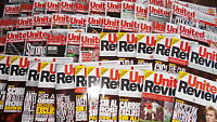 Manchester United Home Football Programmes 2008-2010