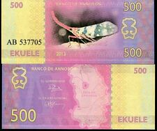 Annobon 500 ekuele 2013 UNC Lantern Bug Insect Equatorial Guinea Private Issue