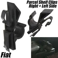 2x REAR PARCEL SHELF CLIPS FOR FIAT ABARTH GRANDE PUNTO EVO DOBLO LEFT + RIGHT