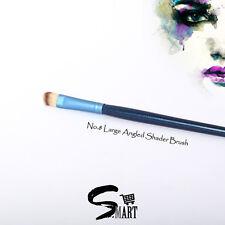 Cosmetic Makeup Large SLANT ANGLED SHADER BRUSH Soft Fibre 1.5x1x17.5cm Blue N08