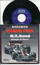 """HZ BAND 45 TOURS 7"""" BELGIUM GRAND PRIX - FORMULE 1 (DE HELMUT ZACHARIAS)"""