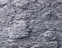 Heki 3137 Felsfolie Kalkschiefer 40 x 18 cm 2 Stück f. alle Spurweiten Fabrikneu